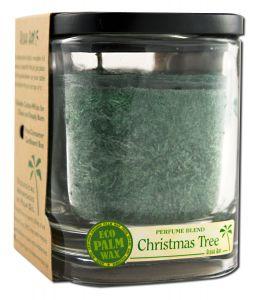 Aloha Bay Palm Wax Candles - Eco Palm Perfume Blend Aloha Jar CHRISTMAS Tree Green 8 oz