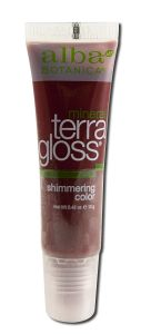 Alba Botanica - Terragloss Lip Natural Color GARNET - Eaches