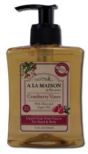 A La Maison - HOLIDAY Cranberry Liquid Soap 10 oz