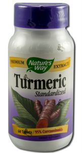 Natures Way - Standardized Herbal Extracts TURMERIC 60 tabs