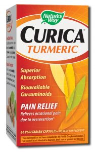 Natures Way - Standardized Herbal Extracts Curica TURMERIC 60 veg cap