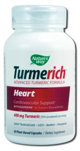 Natures Way - Standardized Herbal Extracts TURMERICh Heart 60 vcap