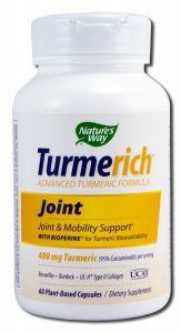 Natures Way - Standardized Herbal Extracts TURMERICh Joint 60 vcap