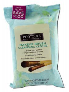 Paris Presents - Eco TOOLS Makeup Brush Cleansing Cloths 25 ct