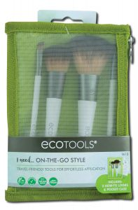 Paris Presents - Eco TOOLS On-The-Go-Style Kit 4 pc
