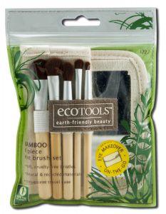 Paris Presents - Eco TOOLS Bamboo Eye Brush Set 6 pc