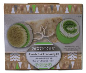 Paris Presents - Eco TOOLS Ultimate Facial Cleansing Kit 3 pc