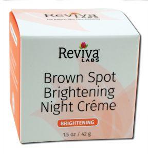 Reviva Labs - Night Creams Brown Spot and Skin Lightening Night Cream 1 oz
