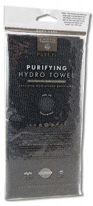 Earth Therapeutics - Charcoal Treatments & Accessories Purifying Hydro TOWEL Black