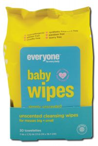 Eo Products - Everyone Baby Unscented Baby Wipes 30 ct
