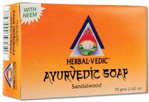Herbal Vedic Ayurvedic - Ayurvedic Soap Sandalwood 75 gm