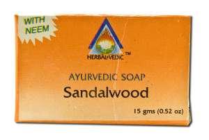 Herbal Vedic Ayurvedic - Ayurvedic Soap Sandalwood 15 gm