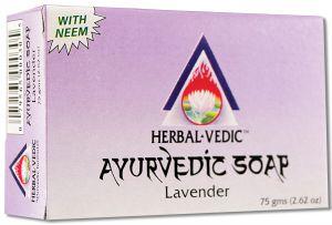 Herbal Vedic Ayurvedic - Ayurvedic Soap Lavender 75 gm