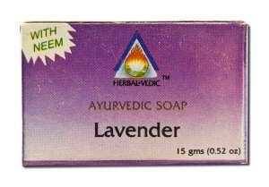 Herbal Vedic Ayurvedic - Ayurvedic Soap Lavender 15 gm
