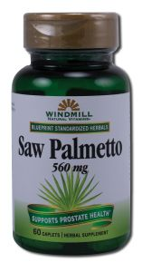 Windmill - Herbal Supplements SAW Palmetto 560 mg 60 caplet
