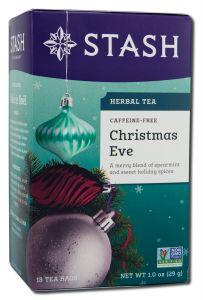 Stash Tea Company - Herbal Teas CHRISTMAS Eve 18 Count