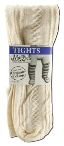 Maggies Functional Organics - Baby CLOTHING & Socks Tights Natural Textured 6-12 months