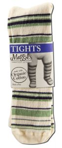 Maggies Functional Organics - Baby CLOTHING & Socks Tights Striped 6-12 months