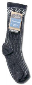 Maggies Functional Organics - Wool Crew Singles SWEATER Sock Black 9-11