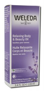Weleda - BODY Care Products Relaxing Lavender BODY OIL 3.4 oz