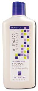 Andalou Naturals - SHAMPOO 11.5 oz Lavender Biotin Volume 11.5 oz