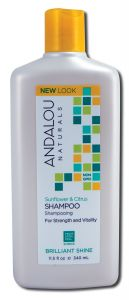 Andalou Naturals - SHAMPOO 11.5 oz Sunflower Citrus Shine 11.5 oz