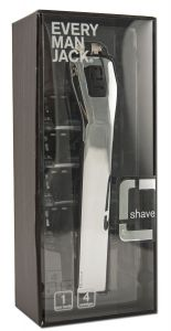 Every Man Jack - Shave Chrome RAZOR includes 4 Cartridges