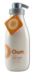 Own Beauty - Body Care Renew Revitalizing Body LOTION Lemon + Sage 12 oz