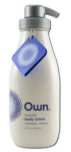 Own Beauty - Body Care Nourish Hydrating Body LOTION Lavender + Vanilla 12 oz