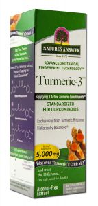 Natures Answer - Dietary Supplements TURMERIC 3 Liquid 1 oz