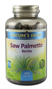 Natures Herbs - Single Natural Herbs SAW Palmetto Berries 250 ct