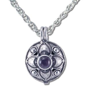 Natures Alchemy - Diffuser PENDANT Necklaces Amethyst Blossom