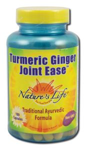 Natures Life - Vitamins & Minerals TURMERIC and Ginger Joint Ease 100 ct