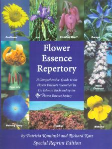 Flower Essence Services (fes) - Literature Repertory BOOK Spiral Bound Edition