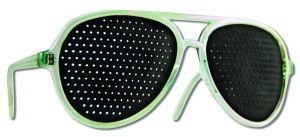 Natural Eyes - Pin Hole Glasses Blue Full FRAME Kit