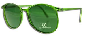 Mrh International - Color Therapy GLASSES Green