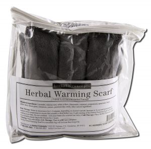 ''Herbal Concepts - Aromatherapy Accessories Warming SCARF Charcoal 66 x 6''''''''''