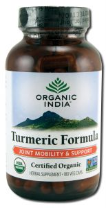 Organic India - Supplements TURMERIC 180 vcaps