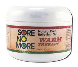 Sombra COSMETICS - Sore no More Warm Therapy Natural Pain Relieving Gel Jar 8 oz