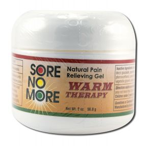 Sombra COSMETICS - Sore no More Warm Therapy Natural Pain Relieving Gel Jar 2 oz