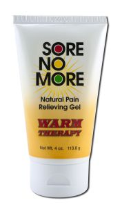 Sombra COSMETICS - Sore no More Warm Therapy Natural Pain Relieving Gel Tube 4 oz