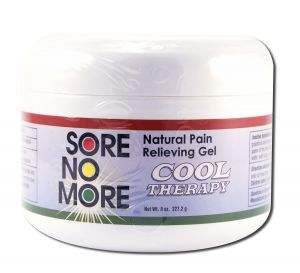 Sombra COSMETICS - Sore no More Cool Therapy Natural Pain Relieving Gel Jar 8 oz