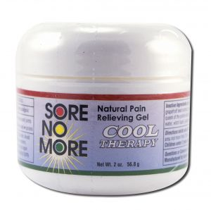 Sombra COSMETICS - Sore no More Cool Therapy Natural Pain Relieving Gel Jar 2 oz
