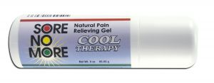 Sombra COSMETICS - Sore no More Cool Therapy Natural Pain Relieving Gel Roll On 3 oz