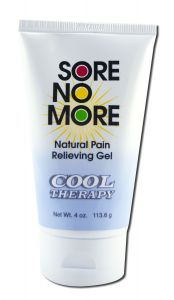 Sombra COSMETICS - Sore no More Cool Therapy Natural Pain Relieving Gel Tube 4 oz