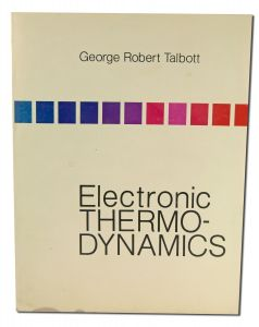 Books - ELECTRONIC Thermodynamics